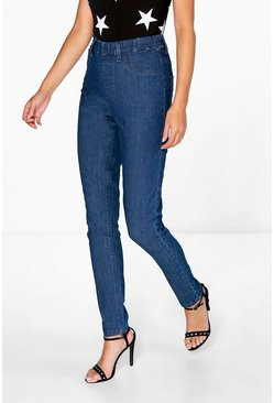Tegan Mid Wash Denim Jeggings
