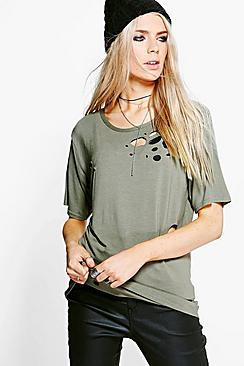 Maisie Distressed T-Shirt