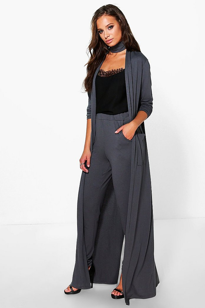 Eleanor Duster With Detachable Choker