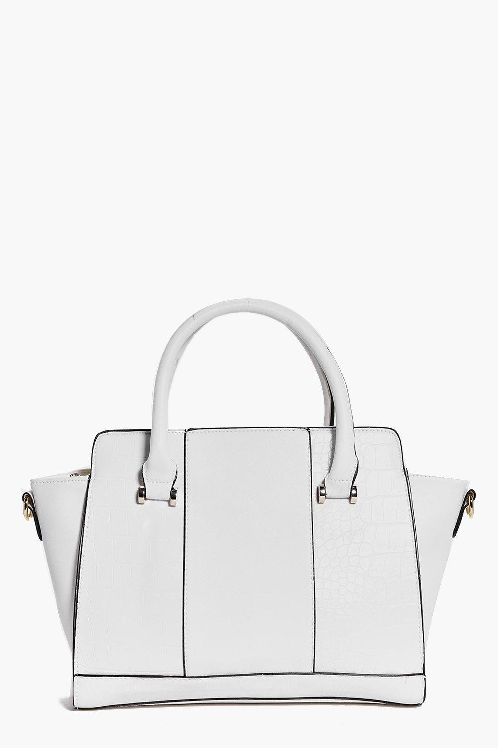 Structured Day Bag white
