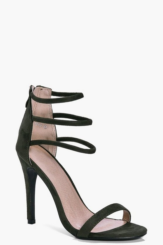 Ruby Three Ankle Band Heel
