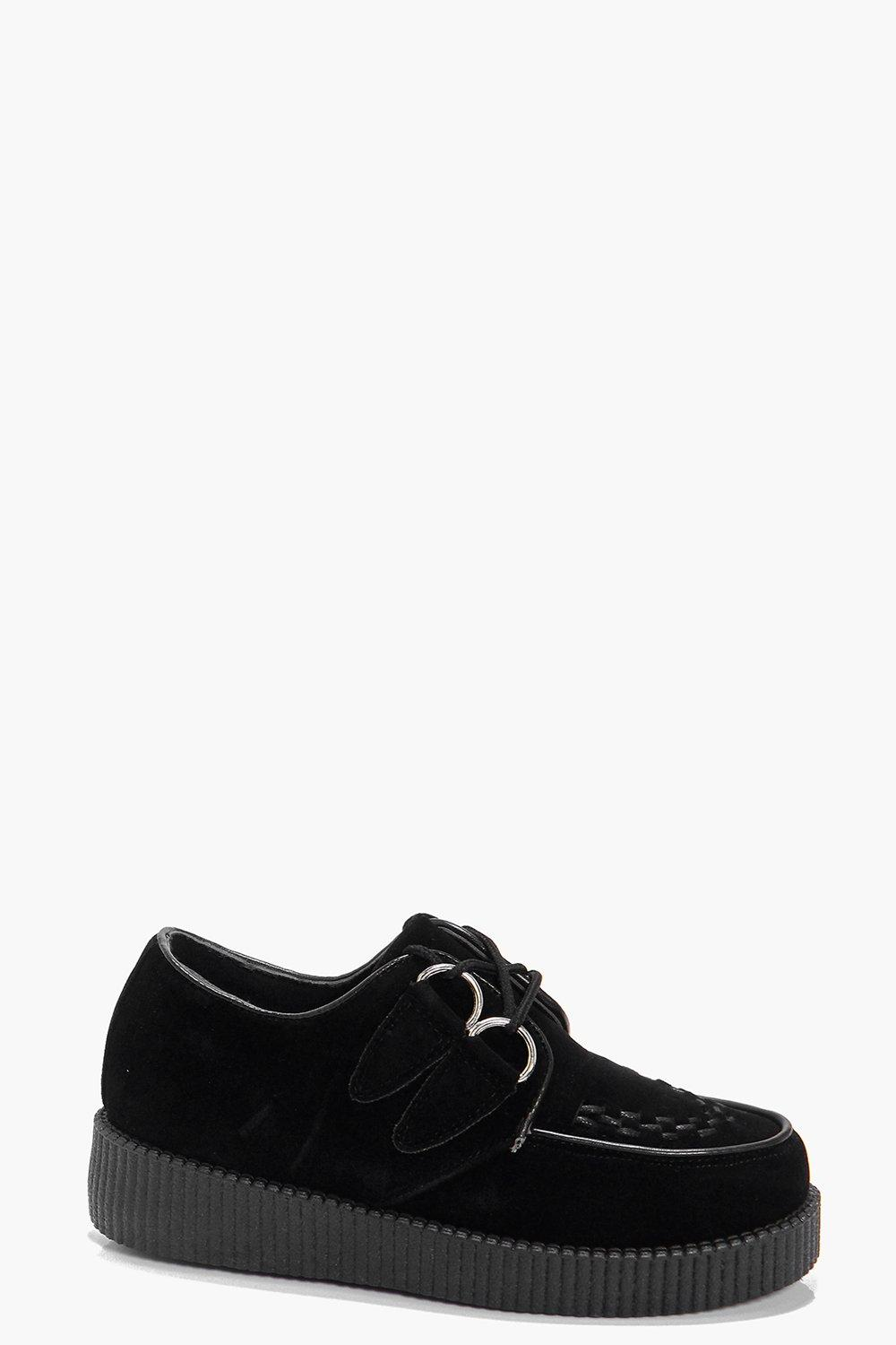 Kayla Lace Up Creeper