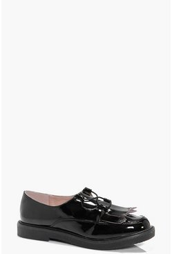 Paige Lace And Fringe Detail Brogue