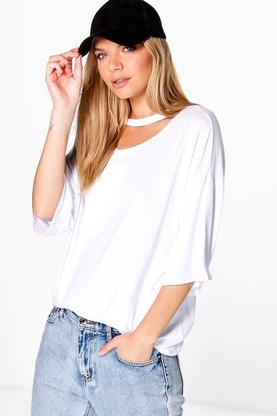 Grace Oversized Choker T-Shirt