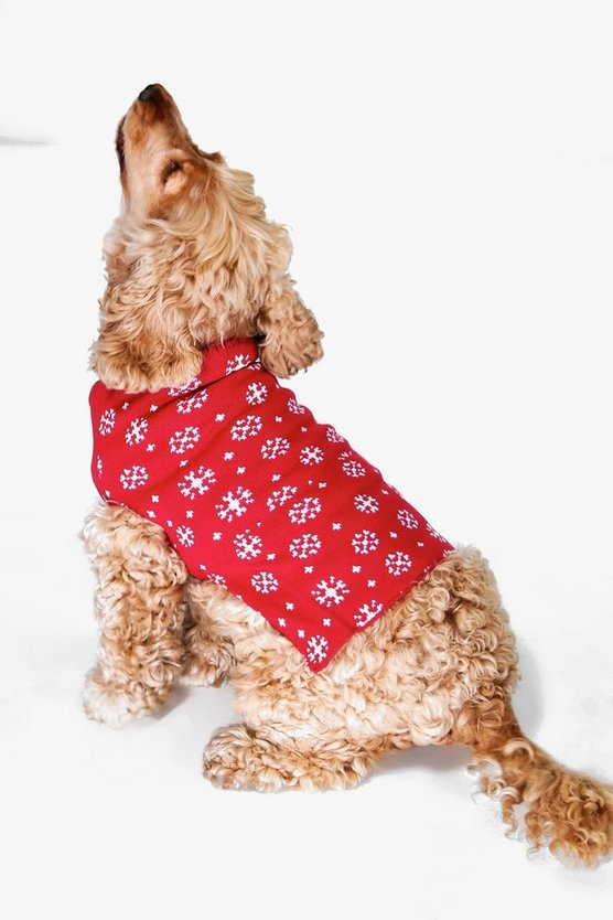 Isabella Snowflake Dog Christmas Jumper