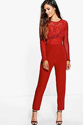 Boutique Ava Barely There Skinny Leg Jumpsuit