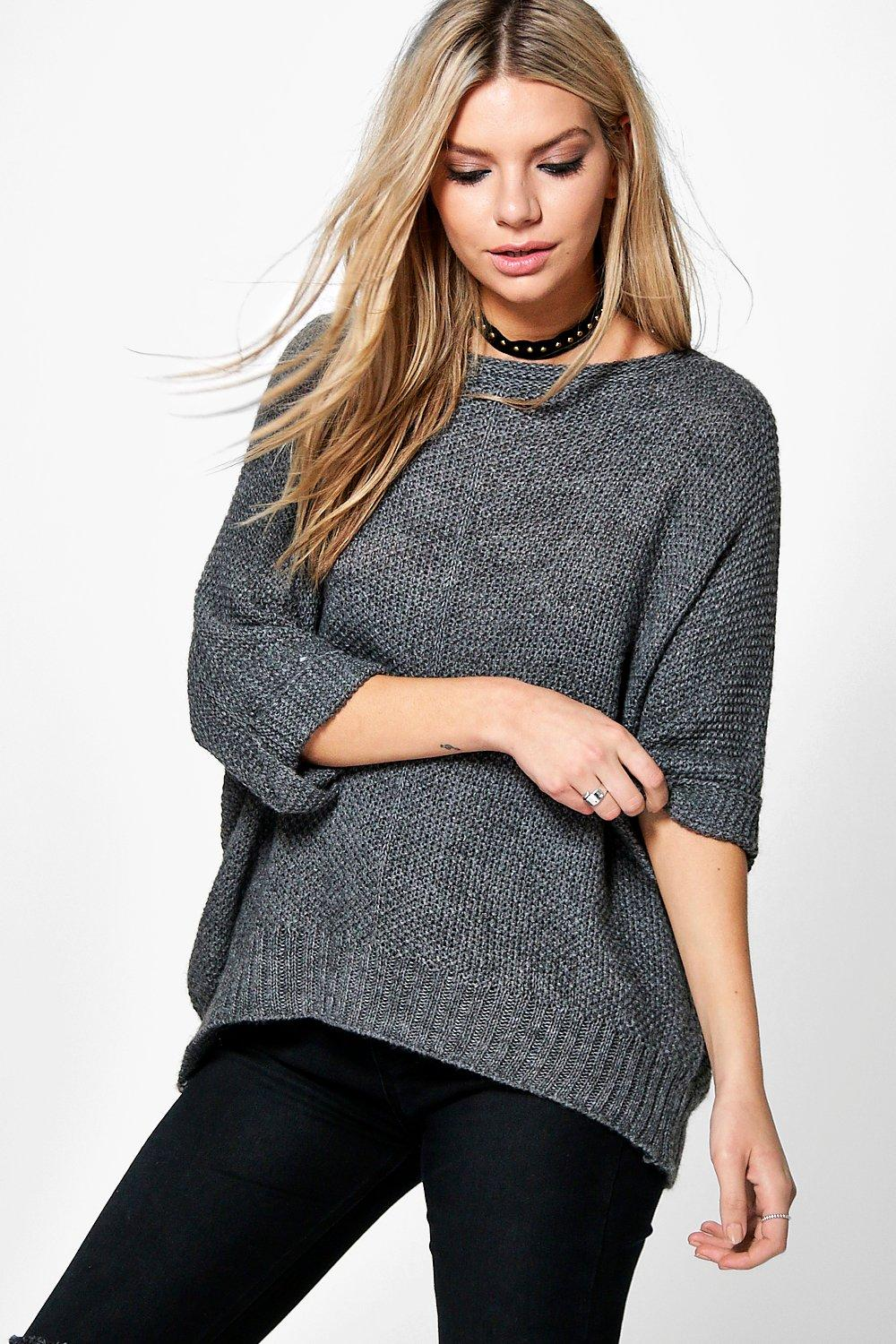 Lola Slouchy Roll Sleeve Jumper