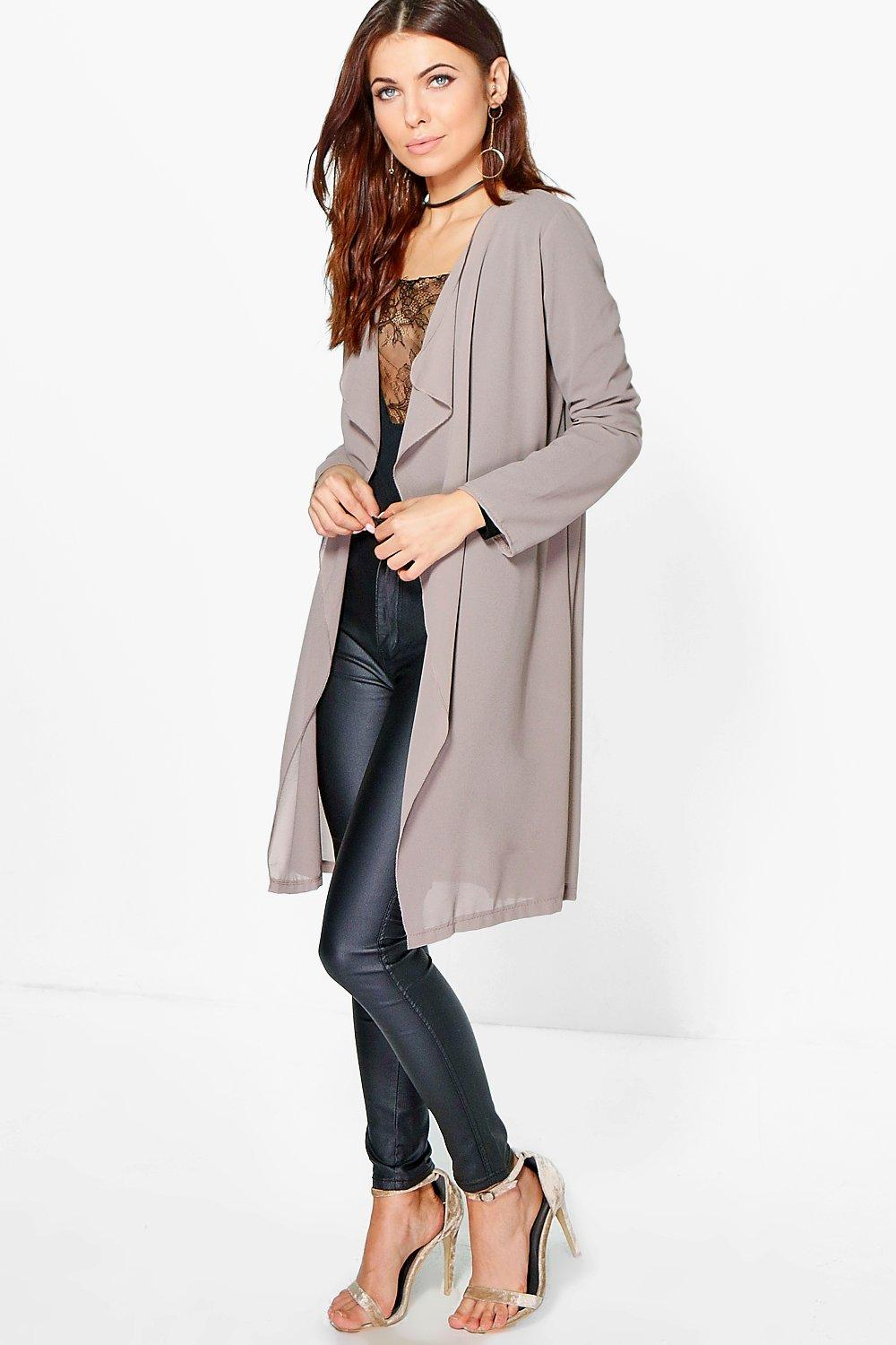 Isabella Waterfall Chiffon Duster