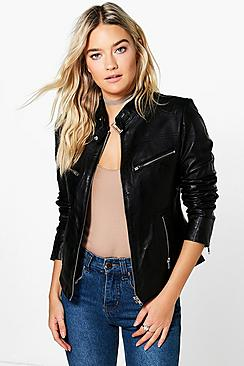 Boutique Amelia Leather Jacket