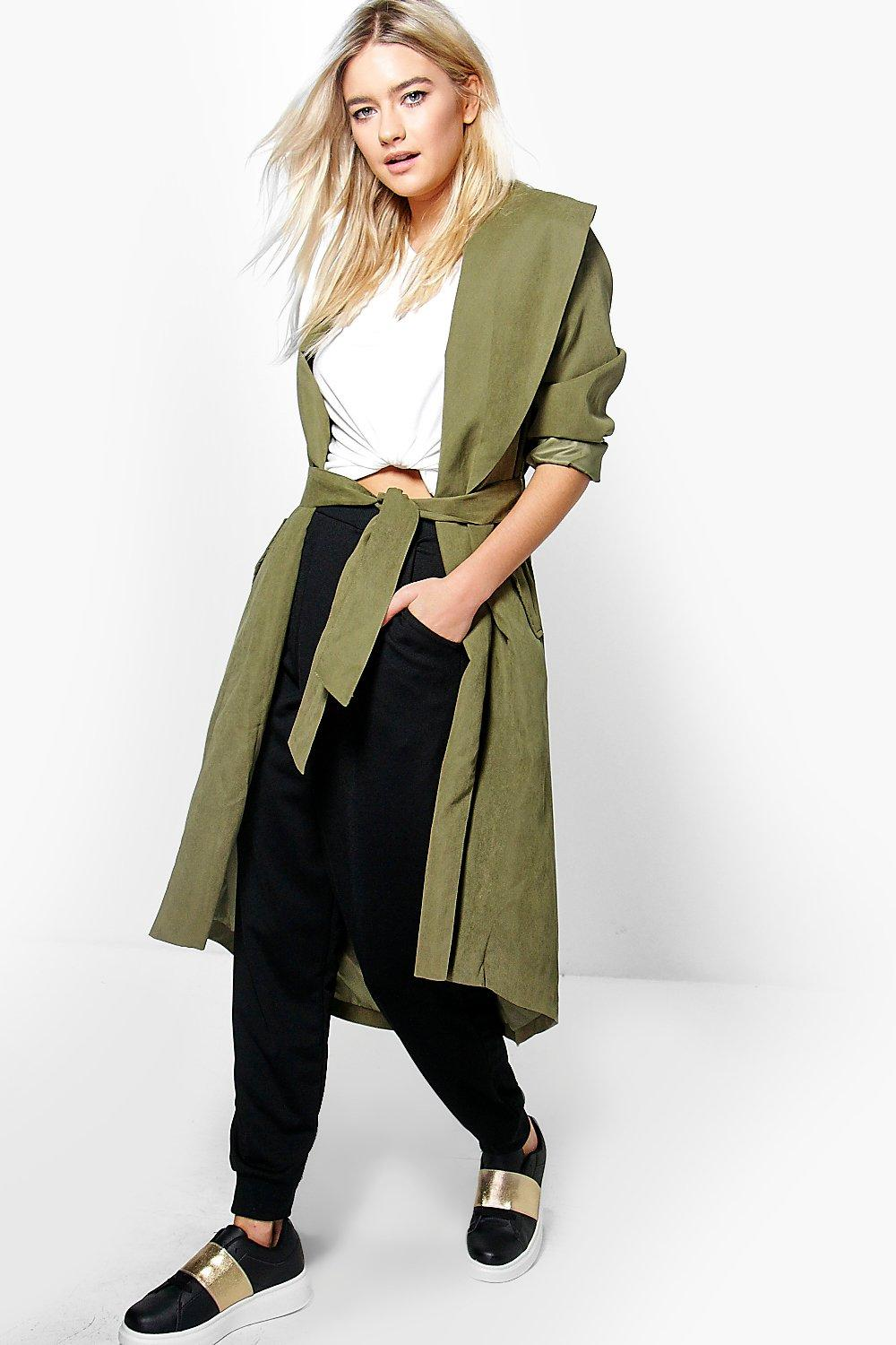 Grace Belted Lightweight Duster