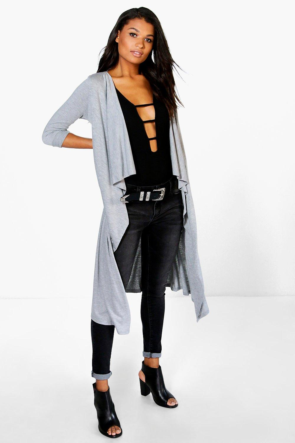 Emily Waterfall Jersey Duster