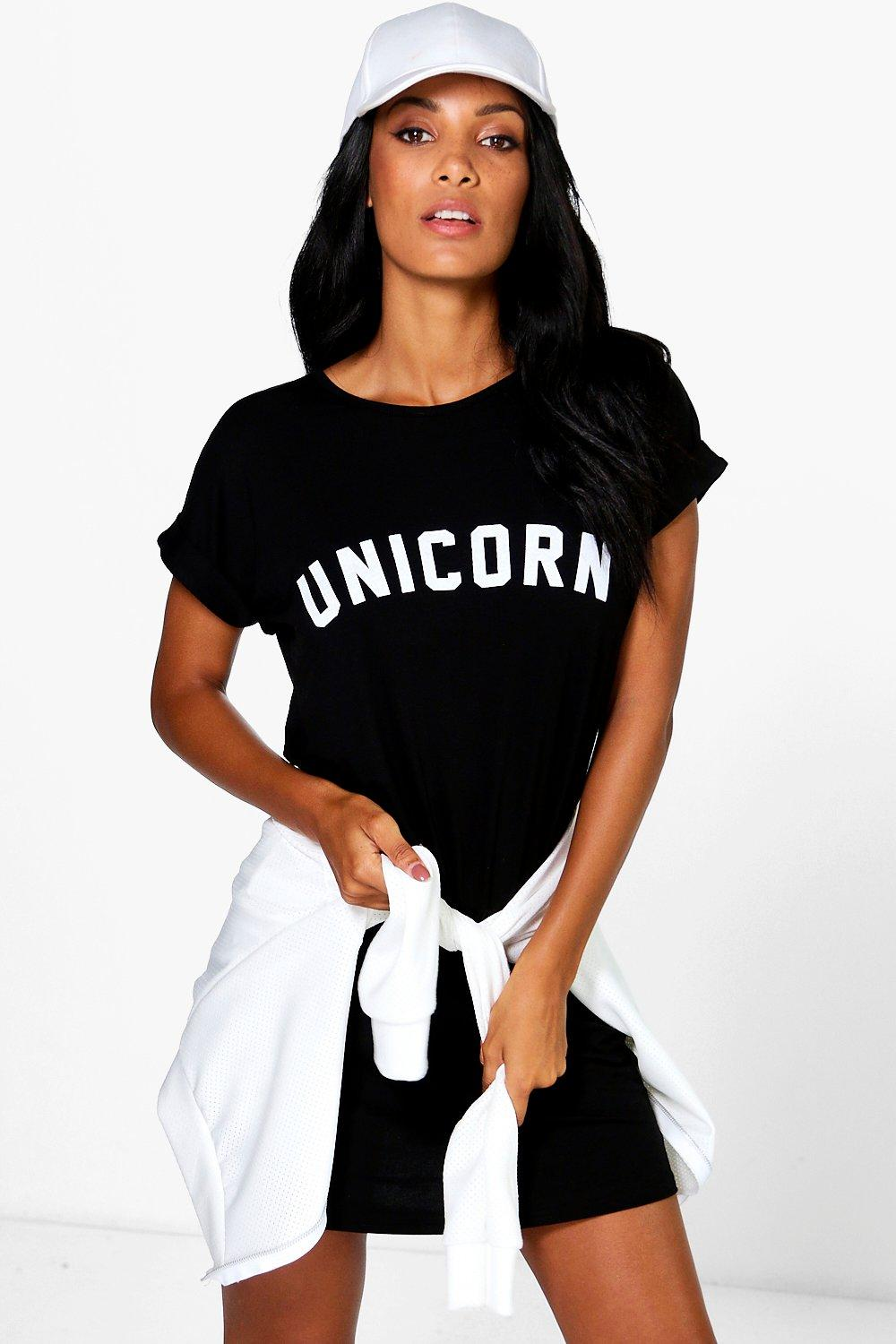 Leila Unicorn T-Shirt Dress