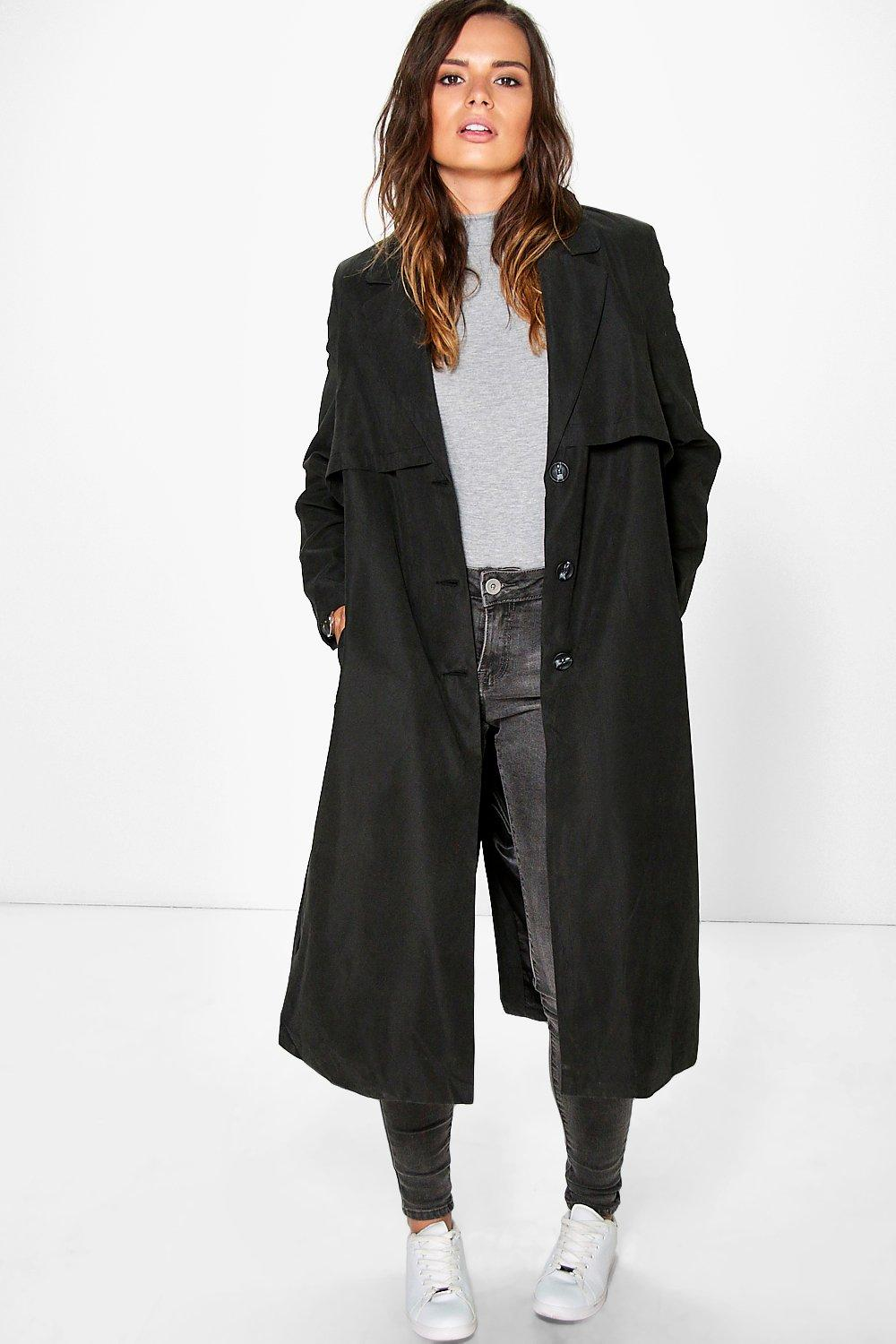Zoe Belted Tailored Duster
