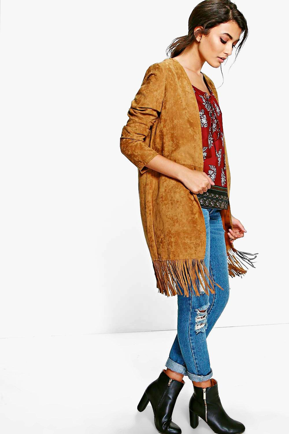 Brooke Suede Jacket