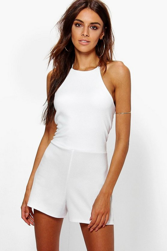 Zoya High Neck Playsuit