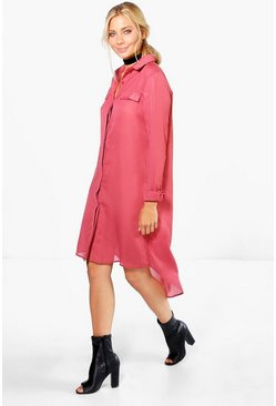 Tessa Shirt Style Woven Dress