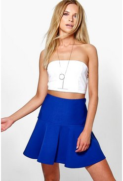 Amelie Drop Hem Flippy Skirt