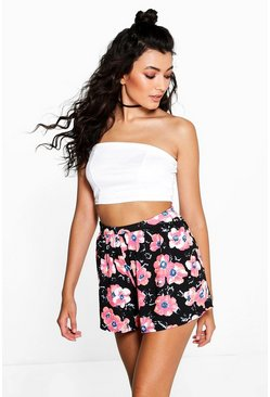 Kate Floral Print Flippy Shorts