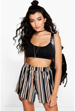 Orla Striped Flippy Shorts