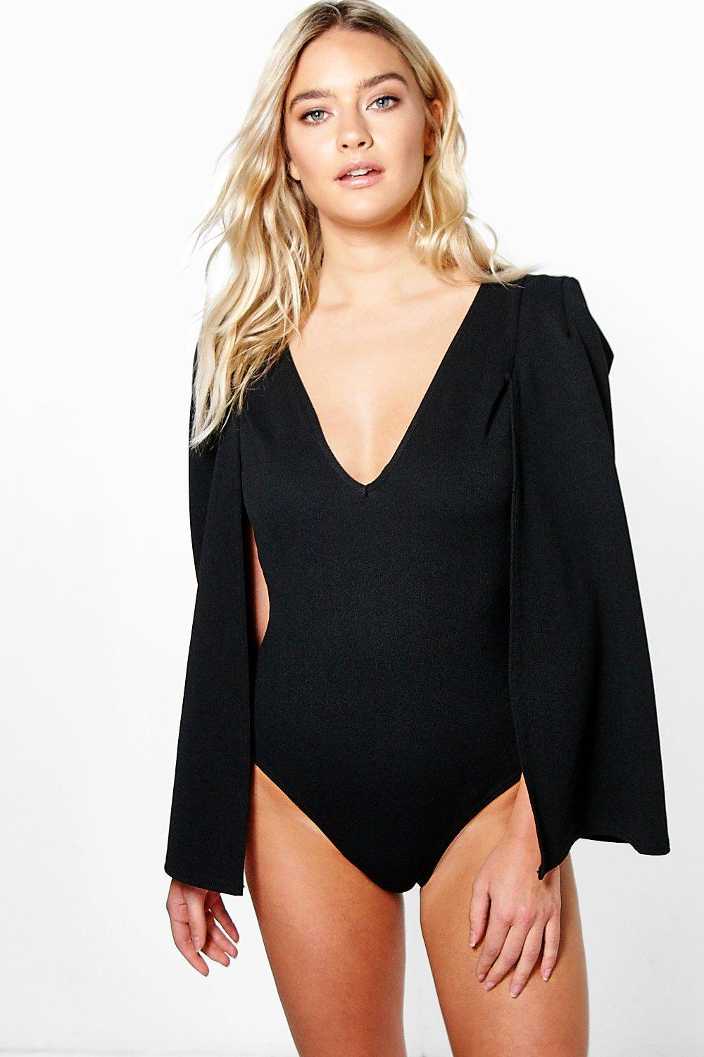 Mia Cape Back Bodysuit