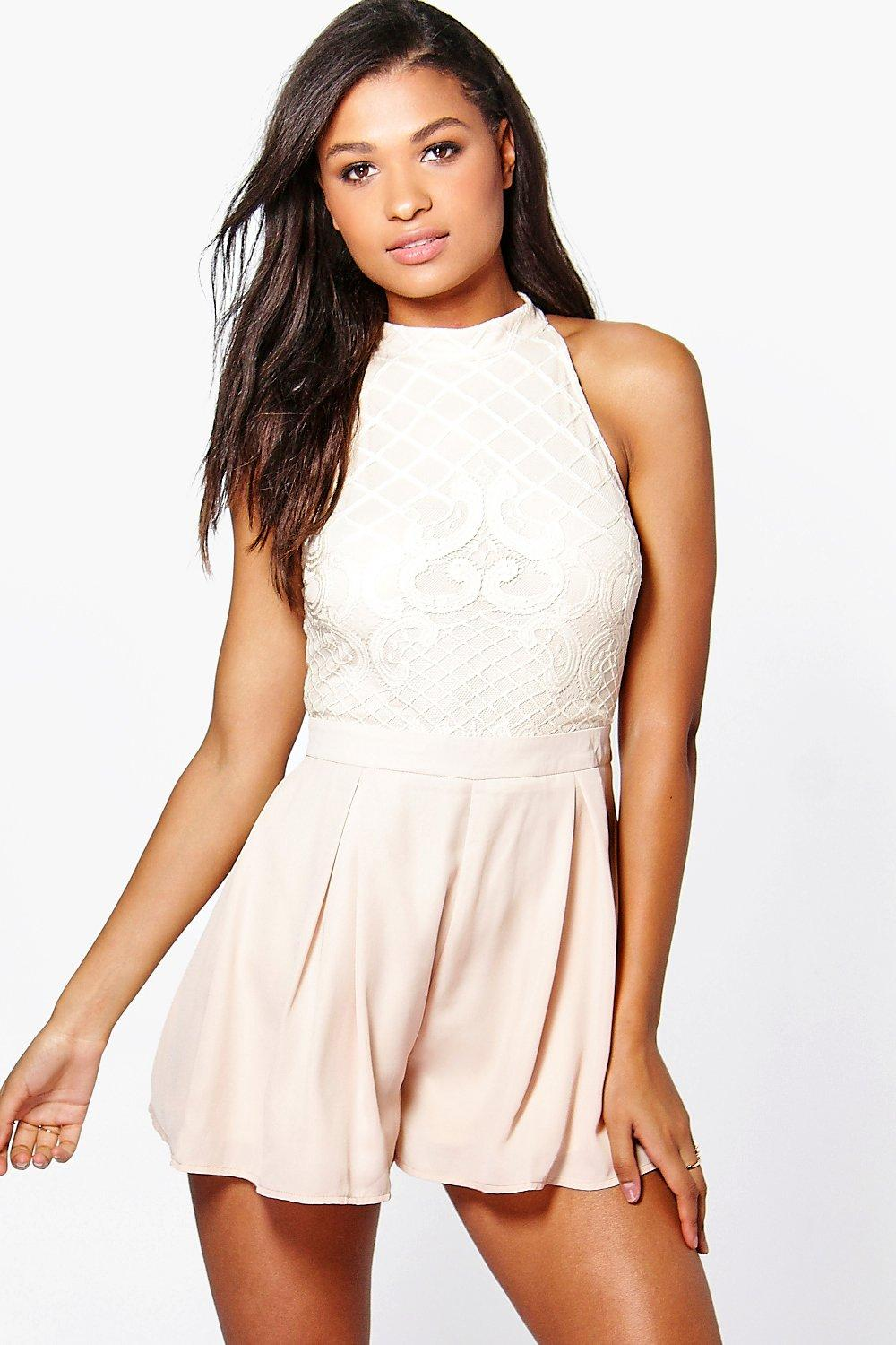 Boutique Mary Statement Back Playsuit