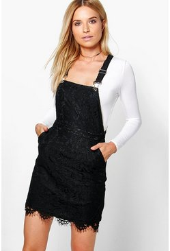Oana Lace Pinafore Dress