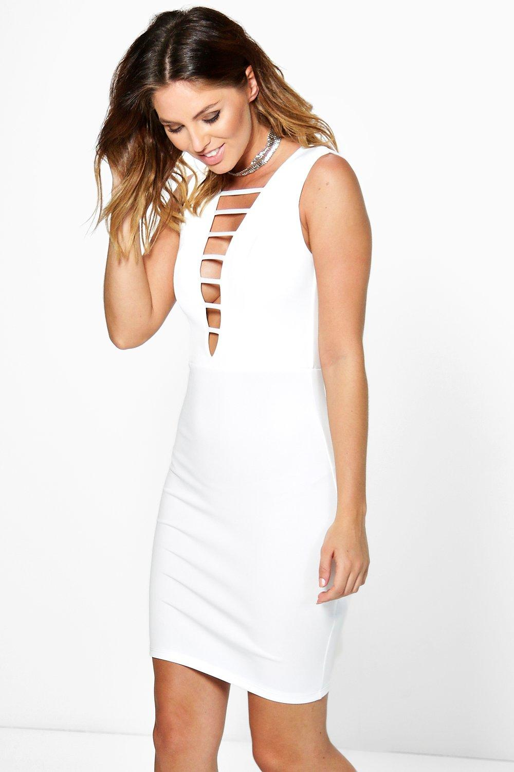Wendy Strappy Front Bodycon Dress