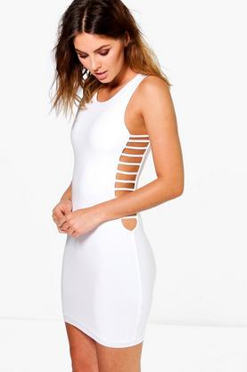 Harriet Strappy Side Bodycon Dress