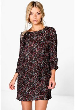 Aislinn Artisan Floral Shift Dress