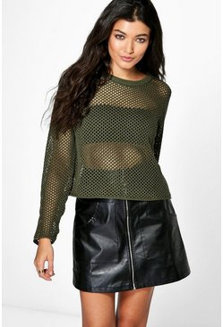 Alice Mesh Jumper