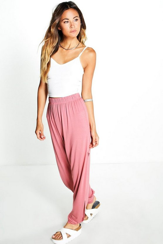 Ria Side Split Hareem Pants