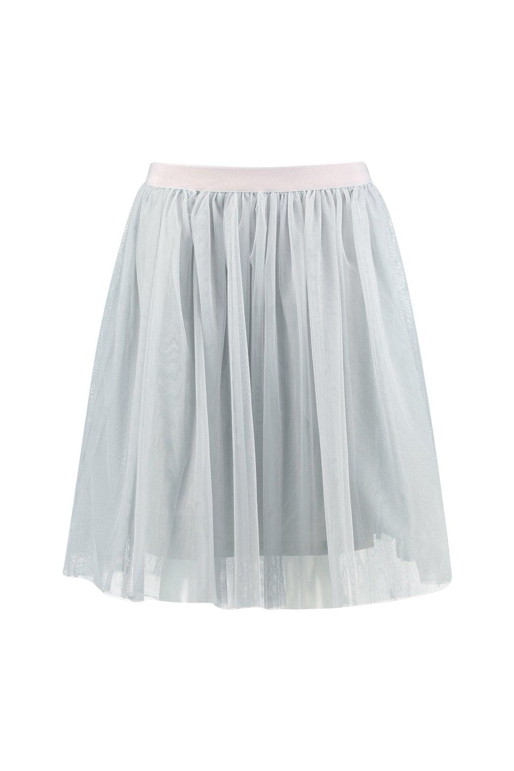 boohoo womens boutique amara knee length tulle skirt ebay
