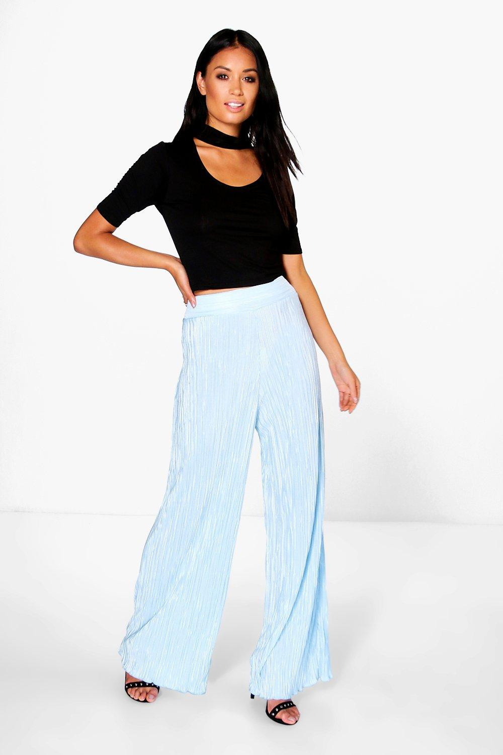 Nova Pleated Wide Leg Trousers