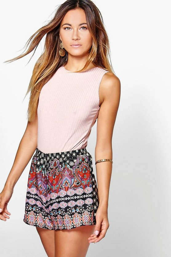 Jenni Multi Print Shorts