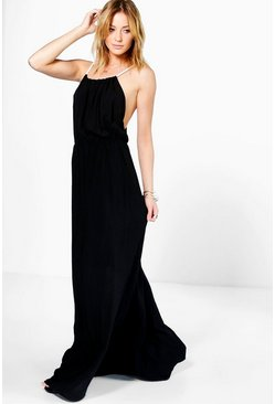 Bethany Rope Tie Maxi Dress