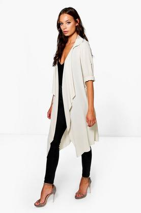 Imogen Waterfall Tie Waist Jacket