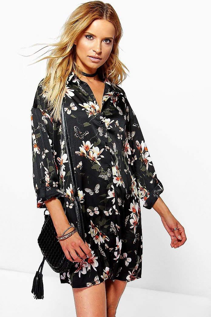 Lissandra Floral Shirt Dress