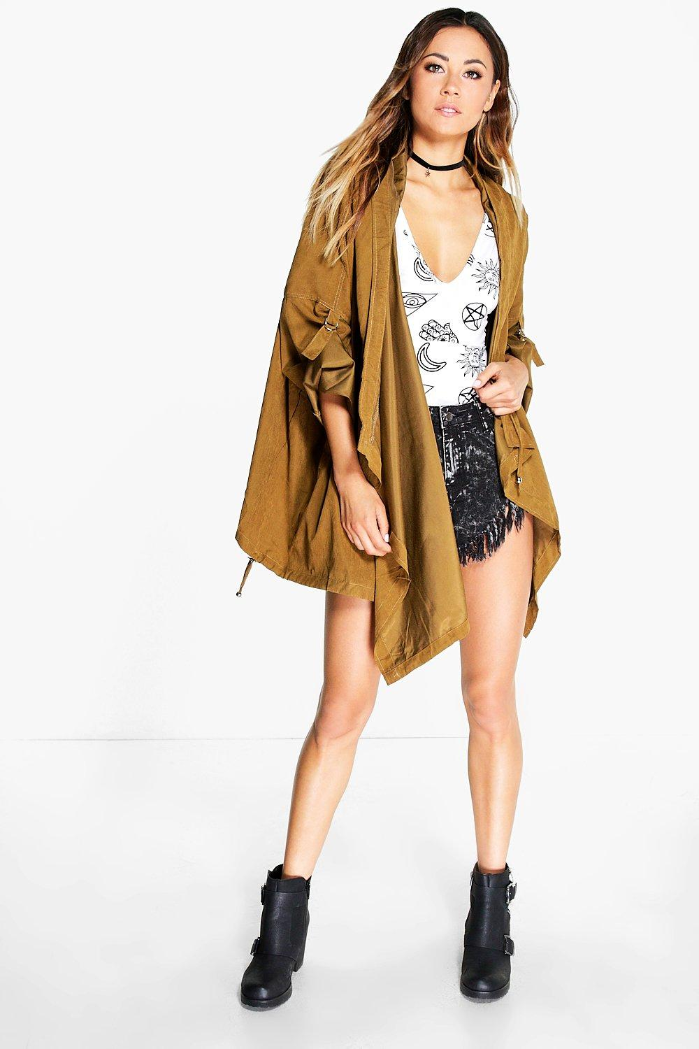 Holly Wrap Over Utility Festival Jacket
