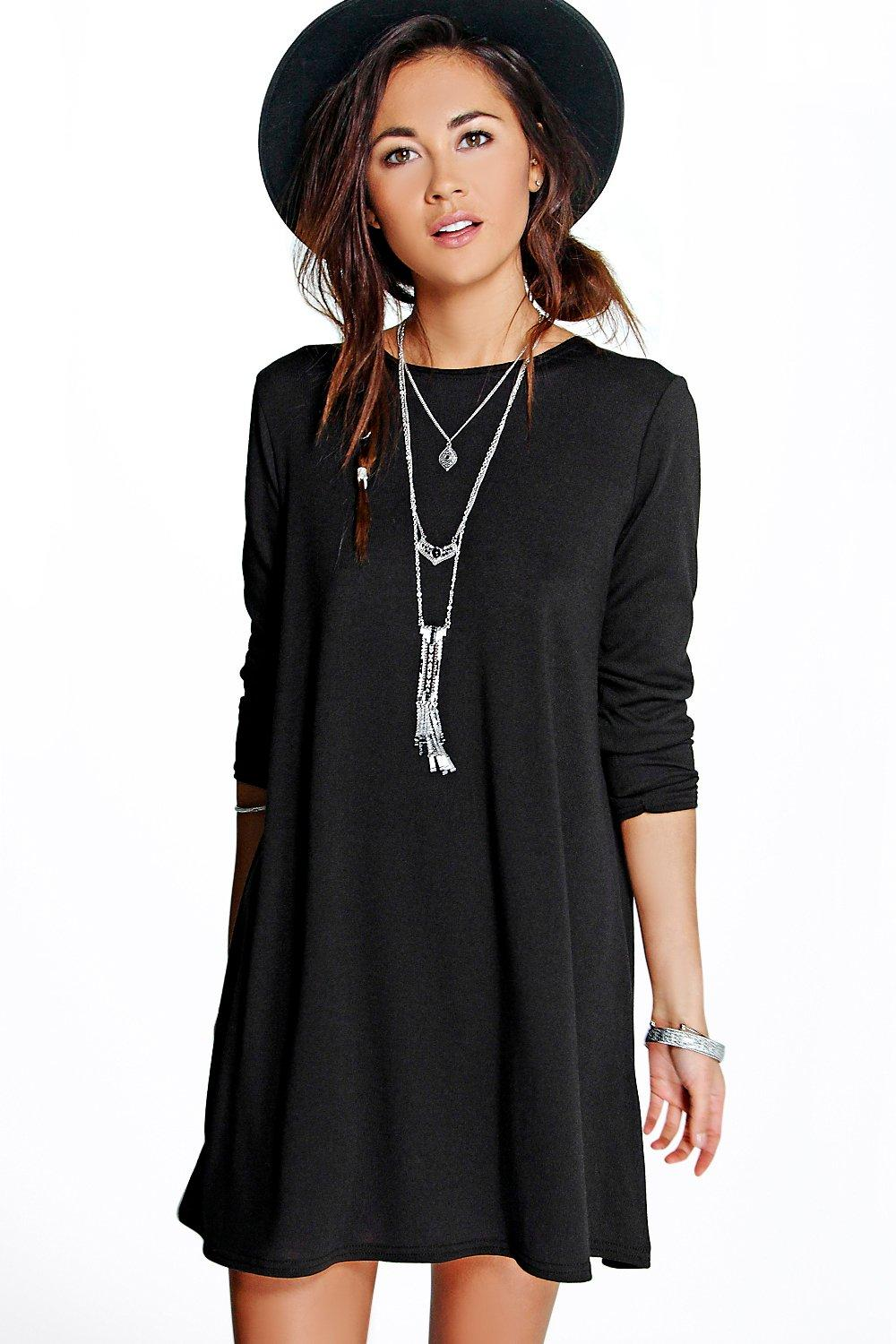 Jasmine Knitted Swing Dress