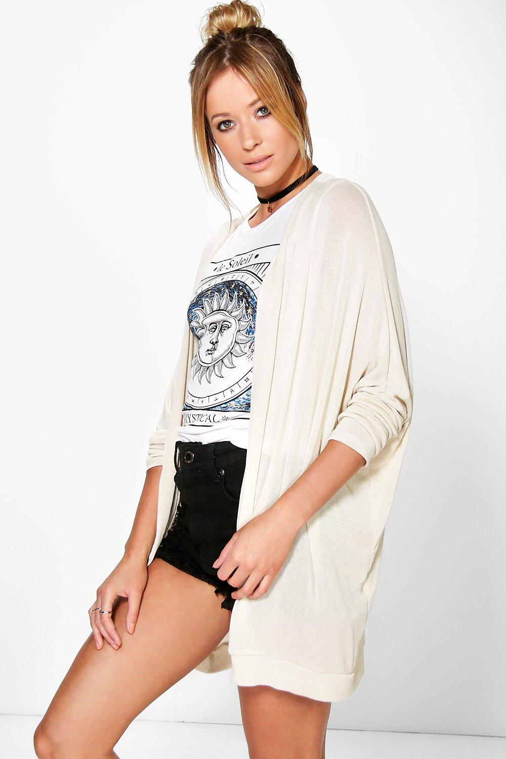 Alicia Oversized Lightweight Batwing Cardigan
