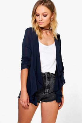 Mia Lightweight Knit Waterfall Cardigan