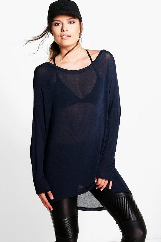 Tina Oversized Batwing Knit Jumper
