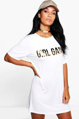 Lisa Girl Gang T-Shirt Dress