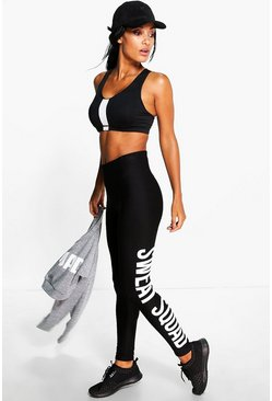 Imogen Fit Sweat Squad Slogan Running Legging