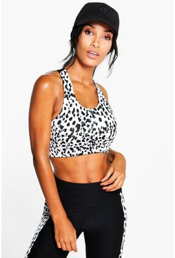 Lola Fit Spot Print Performance Sports Bra
