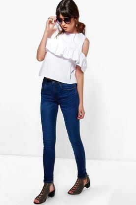Hannah 5 Pocket High Rise Skinny Jeans