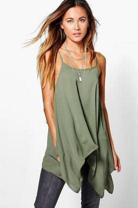 Megan Dip Side Swing Cami