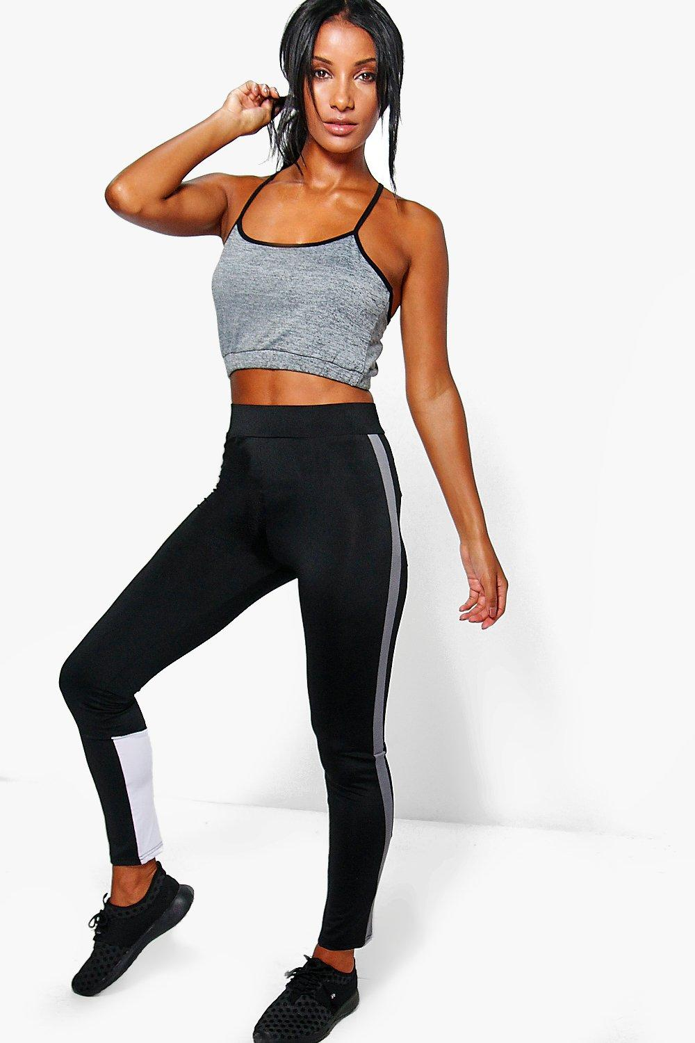 Lillie FIT Performance Running Leggings black