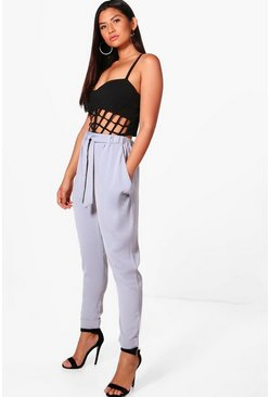 Eva Drape Side Woven Tailored Joggers