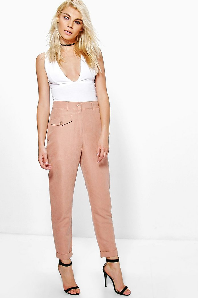 Nualla Pocket Front Soft Touch Slim Fit Trousers